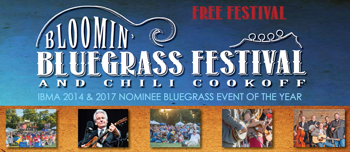 Bloomin' Bluegrass Festival & Chili Cook-Off
