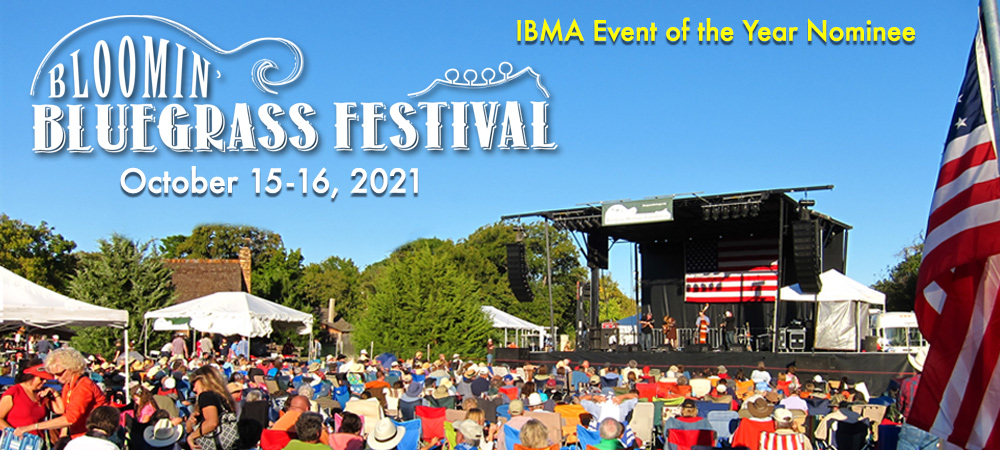 Bloomin' Bluegrass Festival 2021