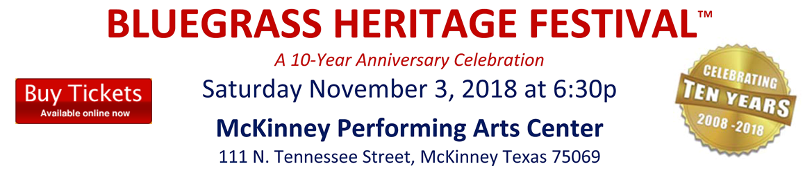 Bluegrass Heritage Festival 2018