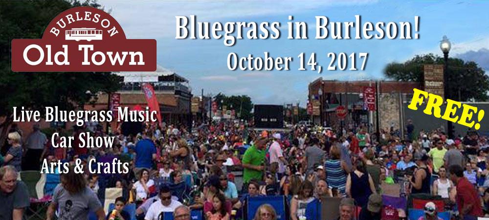 Bluegrass in Burleson 2017