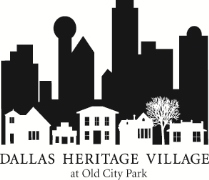 Dallas Heritage Village logo