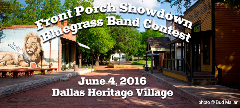 Front Porch Showdown Dallas Heritage Village