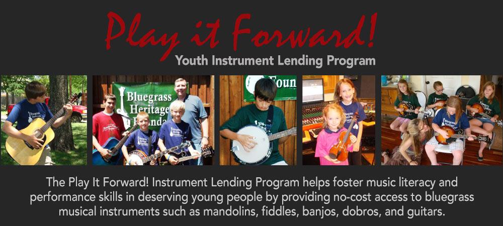 Play It Forward Instrument Lending Program