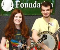 Rebecca and Matt Laird, scholarship recipients
