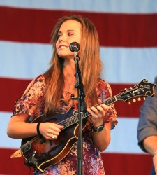 Sierra Hull Bluegrass Star Award Presentation 2013