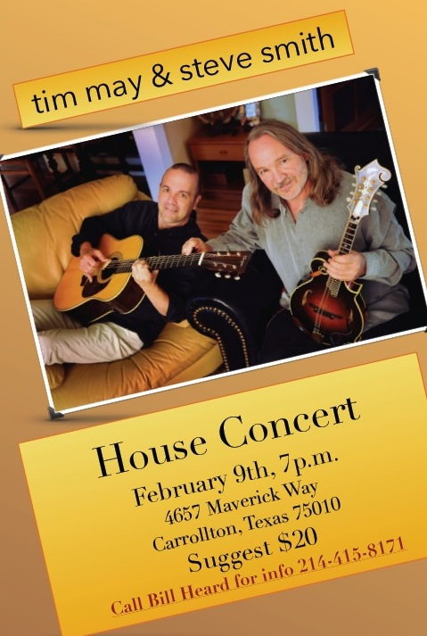 Tim May & Steve Smith House Concert