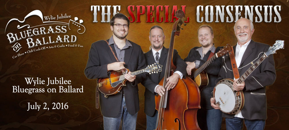 The Special Consensus at Bluegrass On Ballard Wylie Texas July 2, 2016