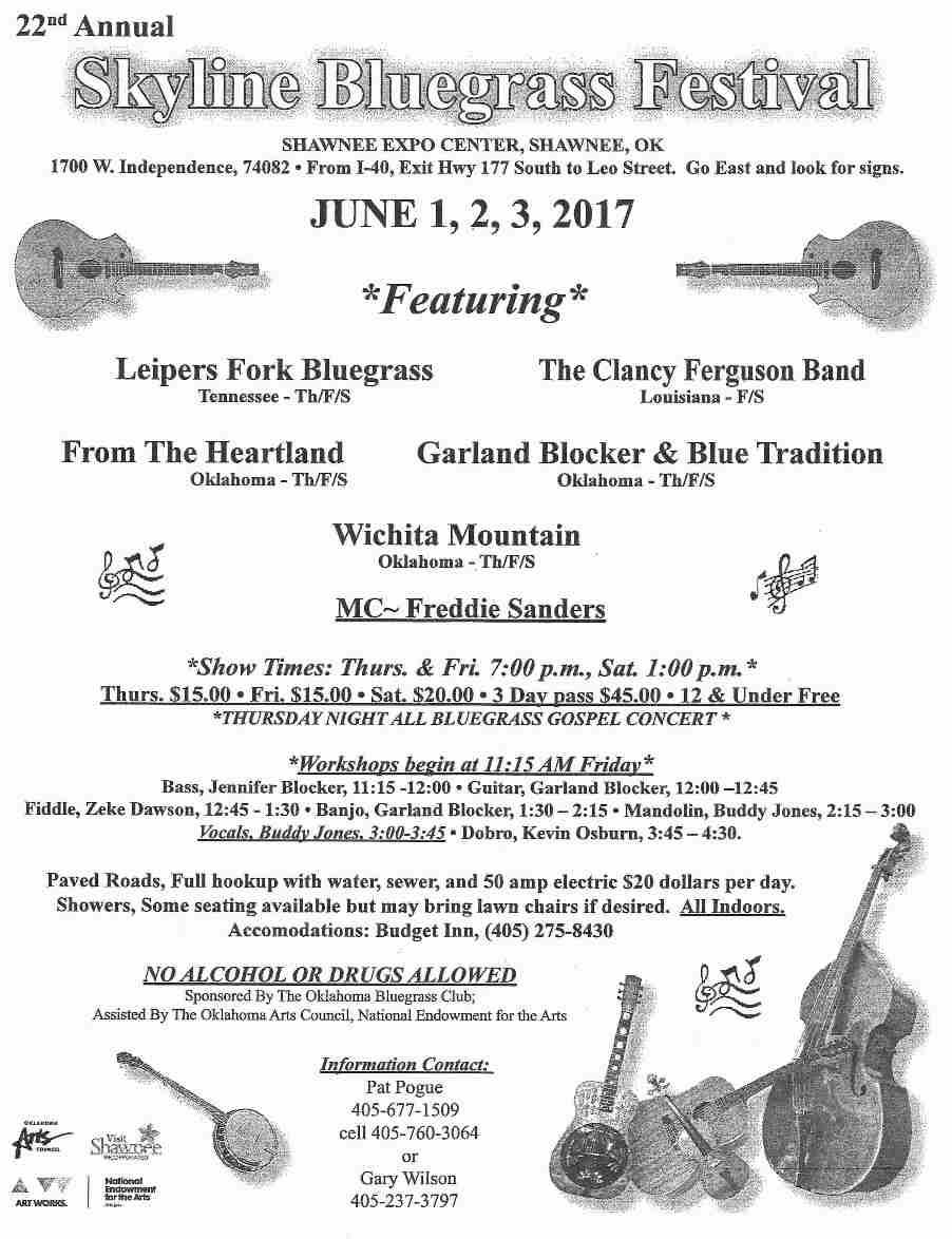 Skyline Bluegrass Festival